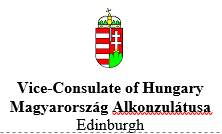 Vice-Consulate of Hungary in Edinburgh